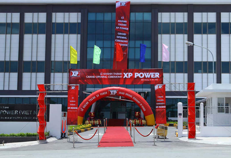 XP Power opens world's most environmentally advanced manufacturing facility in Vietnam