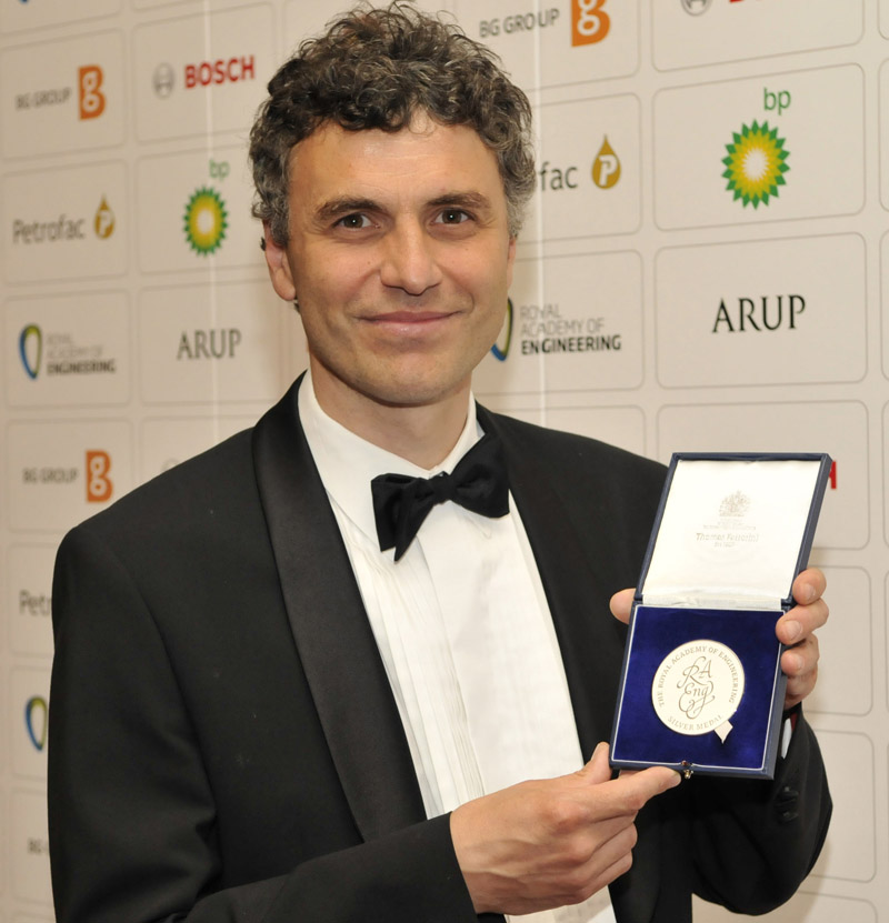 CamSemi founder wins Silver Medal from Royal Academy of Engineering