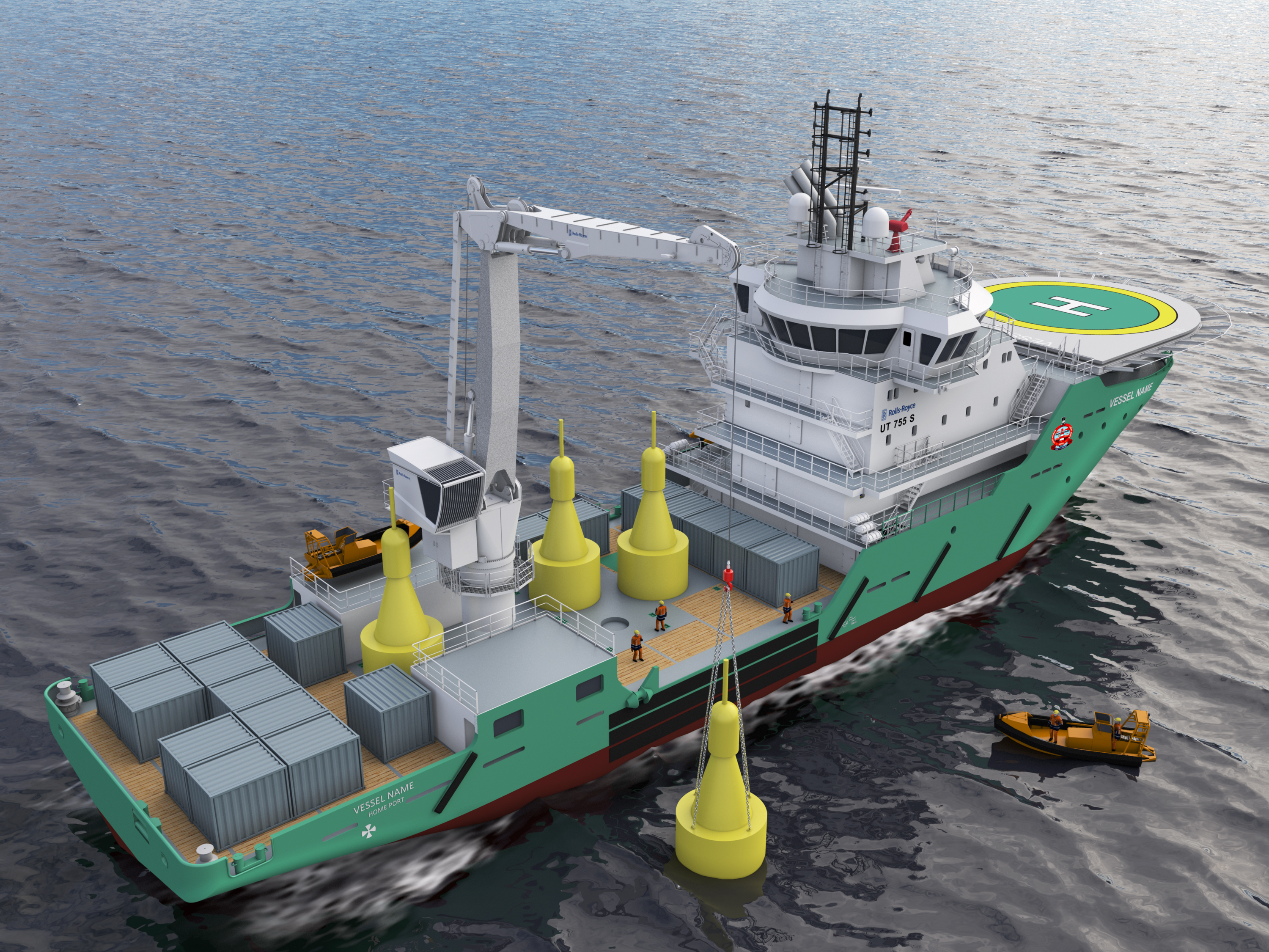 Rolls Royce designs and powers buoy-tender vessel for India