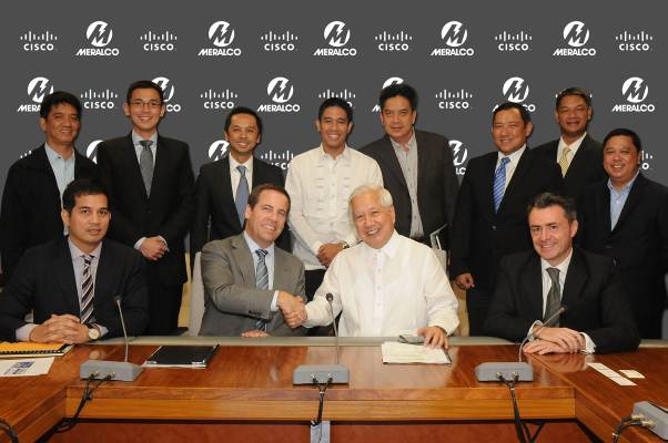 Meralco and Cisco collaborate on Phillippines smart grid