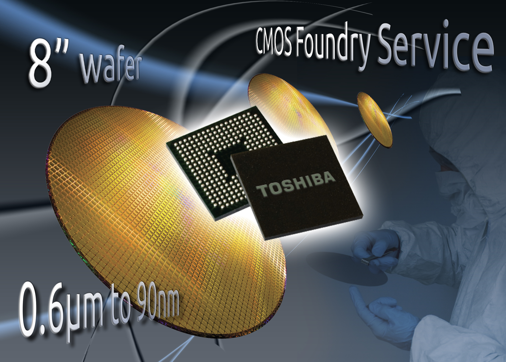 Europe offered flexible CMOS development and foundry service by Toshiba