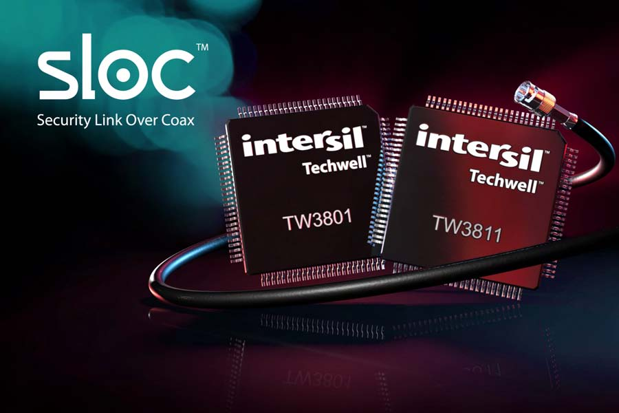 Intersil expands video-surveillance coalition
