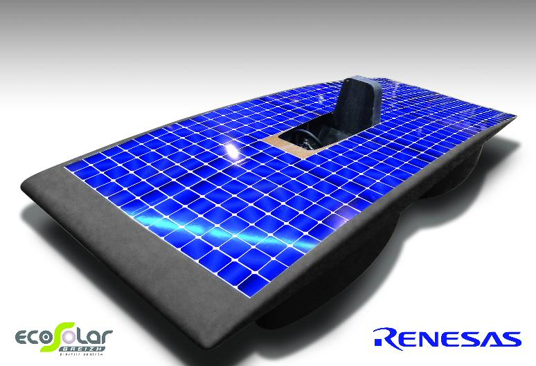Renesas Electronics Europe supports Eco Solar Breizh racing team for World Solar Challenge 2013 in Australia