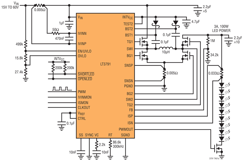 LED-driver ICs lead to a broad spectrum of lighting