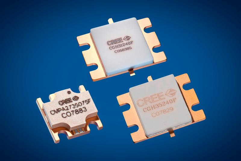 Cree GaN HEMT Transistors and MMIC Deliver Industry Leading Power and Efficiency for S-Band Radar Applications
