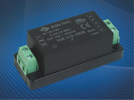 Compact chassis-mount power supplies suit challenging environments
