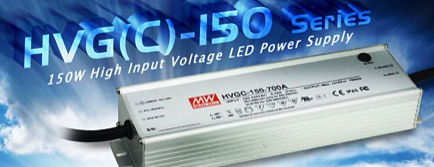 LED power supplies deliver up to 150W