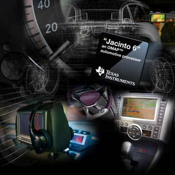 Automotive OMAP processor enhances in-vehicle experience
