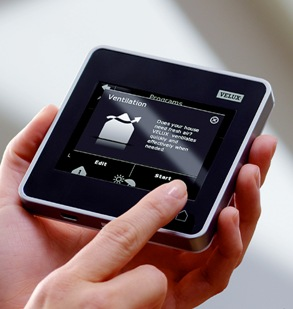 Low power MCU delivers long battery life in VELUX touch screen remote control