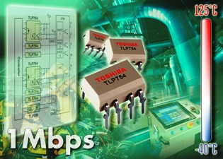 DIP8 optocoupler delivers enhanced Isolation for IPM motor control