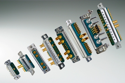 Non-magnetic D-subminiature connectors well-suited for medical imaging apps