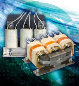 Three-phase transformers ideal for instrumentation and industrial control apps
