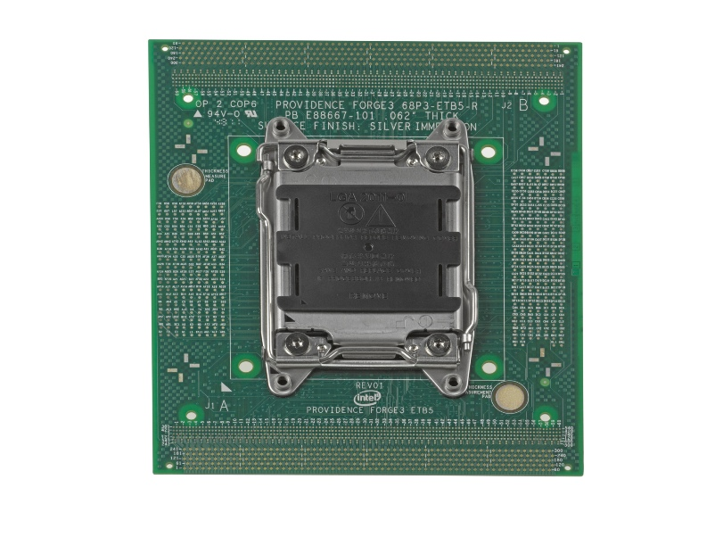 CPU socket supports top-of-the-line Intel Core i7 Series processors