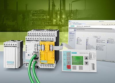 Siemens equips motor management system with Profinet interface
