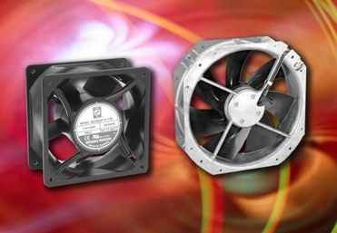 IP55-rated AC fans target rugged environments