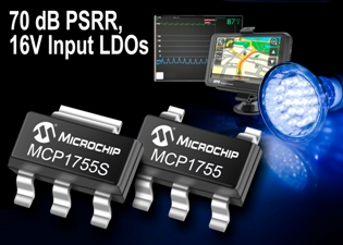 LDO voltage-regulator family targets demanding applications