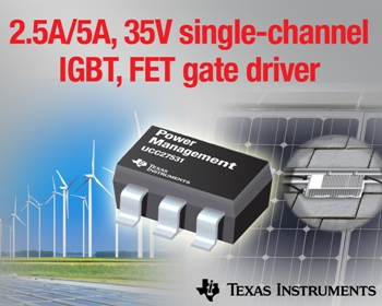 Gate drivers target IGBT and SiC FET designs