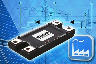 Mass-produced Schottky-free SiC MOS module ideal for 1200V/180A inverters