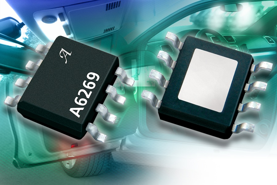 Two-channel linear LED driver IC addresses automotive interior lighting apps