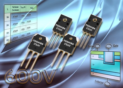 Sixth-generation 600V IGBTs improve hard-switching efficiency