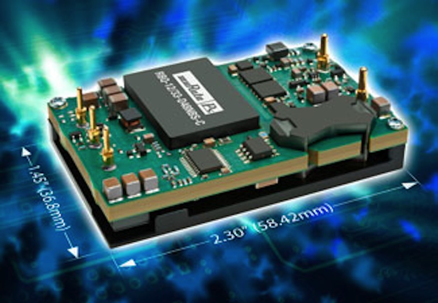 Vicor Power Vout=6V VI-25V-02  DC//DC Converter Module Pout=150W Vin=150V