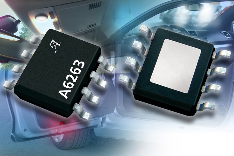 Four-channel LED driver IC serves automotive interior lighting
