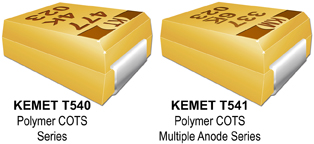 KEMET expands Its polymer tantalum capacitor portfolio