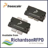 Richardson RFPD introduces 75W Freescale LDMOS RF transistor for land mobile radio