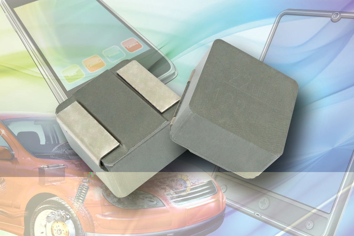 Low-profile inductors handle currents up to 180A