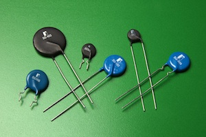 InRush current-limiting NTC thermistors reduce circuit failures