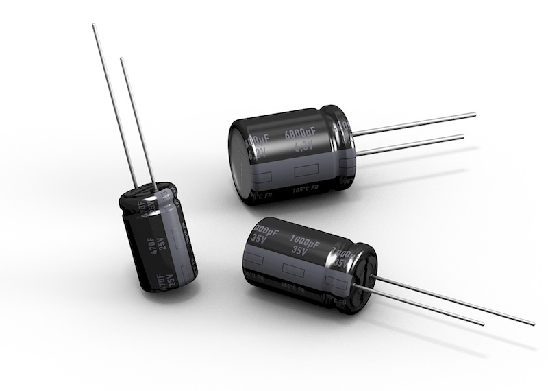 Two new Panasonic aluminium electrolytic capacitor ranges now available from TTI