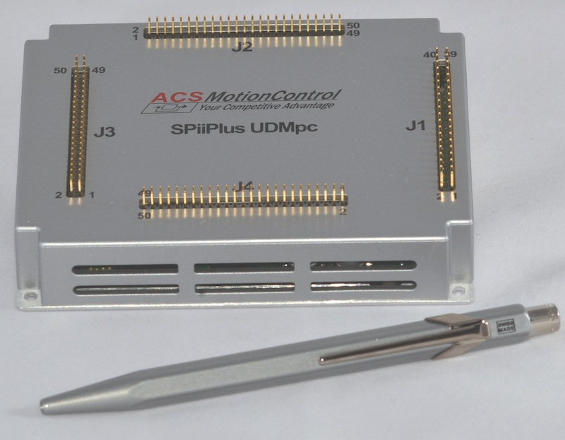 Multi-axis motion and machine control system can operate as an EtherCAT slave