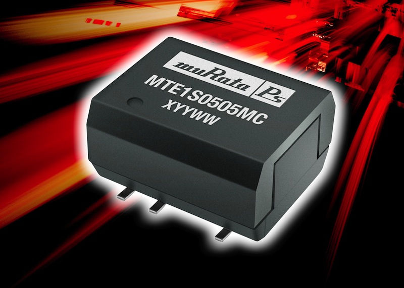 Moisture-resistant DC-DC converter delivers 1W with 88% efficiency