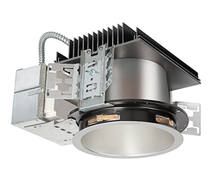 High-output LED downlights suit high-ceiling environments