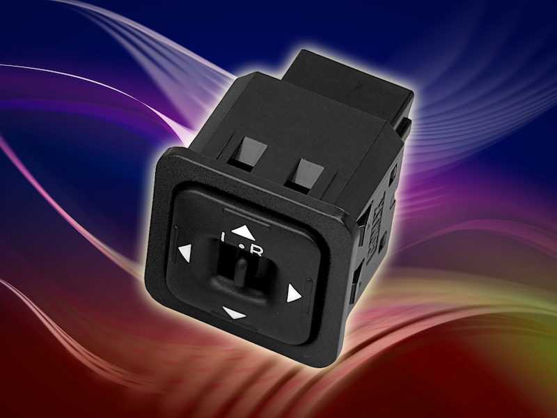 Robust 4-way adjustable direction switch simplifies assembly