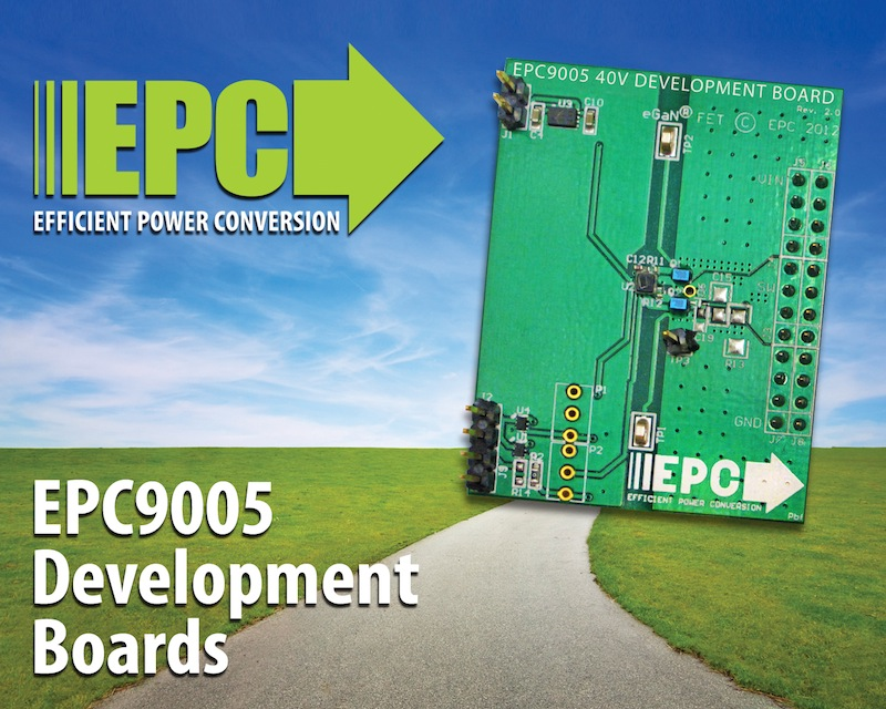 Development board has dedicated eGaN FET driver