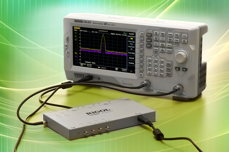Low-cost spectrum analyzer performs pre-compliance testing