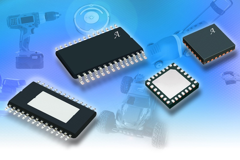 Three-phase MOSFET motor control IC can support load currents in excess of 150A