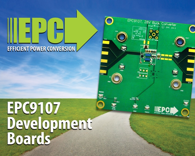 eGaN FET Demonstration Board eases development efforts