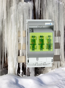 Mersen NH-Switchgear for arctic temperatures safe at minus 40 degrees Celsius