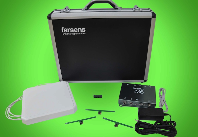 Battery-free sensor evaluation kits now available from Farsens