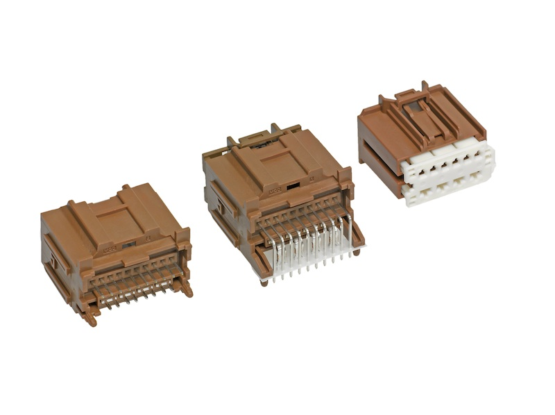 Molex expands its Stac64 connector family with a 14-Circuit hybrid system