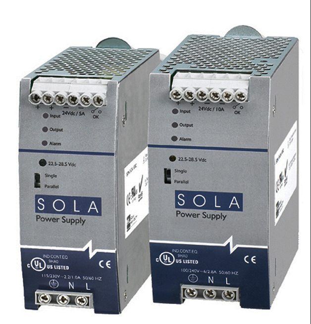 Power supplies from SolaHD drive controls in photocell arrays and solar reflectors