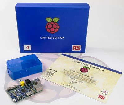 RS Components releases free limited edition Raspberry Pi credit-card-sized computer to celebrate anniversary