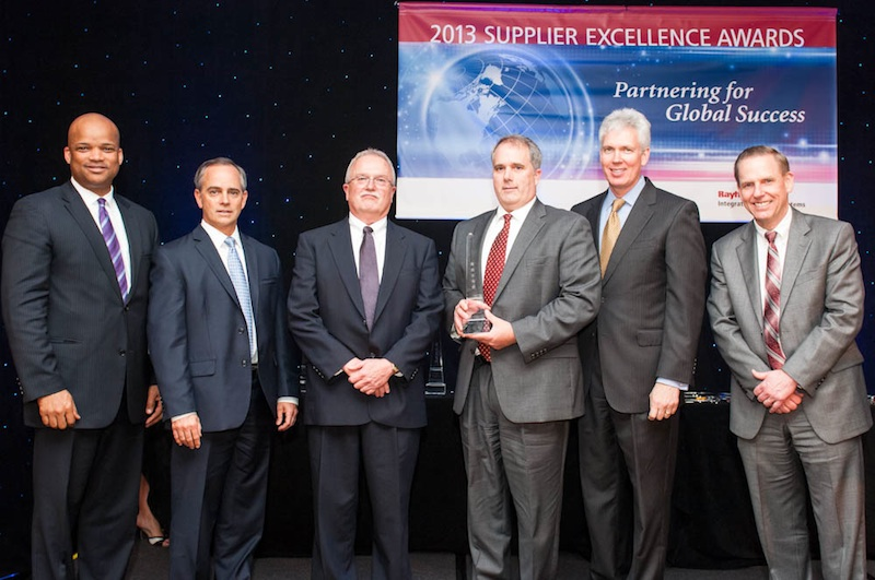 AVX receives 5-Star Supplier Excellence Award from Raytheon