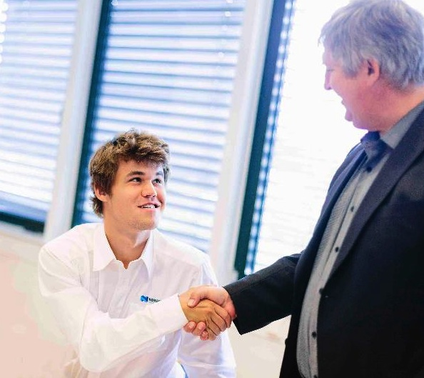 Chess Champion Magnus Carlsen becomes an ambassador for Nordic Semiconductor