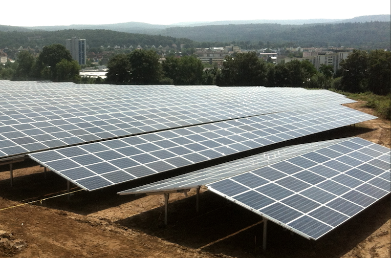 IBC SOLAR commissions megawatt-scale PV power plant for commercial self-consumption