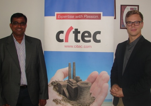 Citec India hosts Energy Ambassador 'Pentti Itkonen' to promote green technologies in India