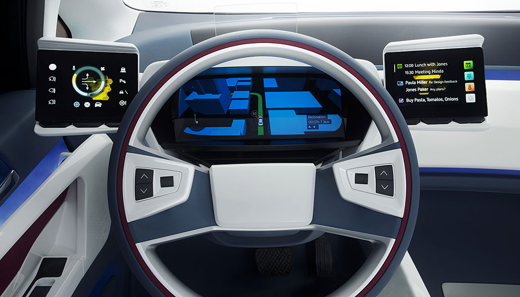 Visteon shows off e-Bee concept at CES