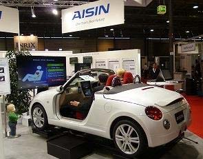 Aisin demonstrates Human Error Monitoring System